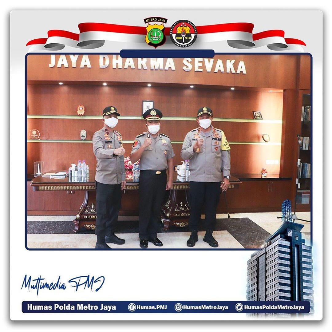 Kapolda Metro Jaya Pimpin Upacara Kenaikan Pangkat Luar Biasa WADIR RESKRIMSUS POLDA METRO JAYA